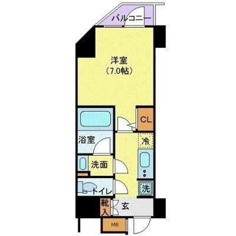 ハーモニーレジデンス浜松町 / 1301 部屋画像1