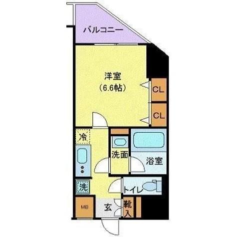 ハーモニーレジデンス浜松町 / 1103 部屋画像1