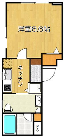三段坂ヒルズ / 1階 部屋画像1