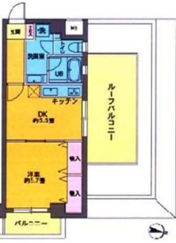 カスタリア新宿7丁目 / 4階 部屋画像1