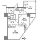 カスタリアタワー品川シーサイド / 60Cタイプ(57.56㎡) 部屋画像1