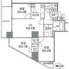 カスタリアタワー品川シーサイド / 60Iタイプ(62.69㎡) 部屋画像1