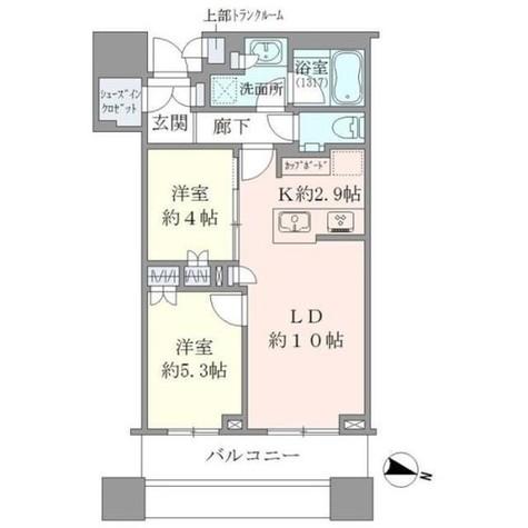 Brillia Towers目黒ノースレジ(ブリリアタワー目黒ノースレジ) / 23階 部屋画像1
