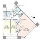 Brillia Towers目黒ノースレジ(ブリリアタワー目黒ノースレジ) / 3104 部屋画像1