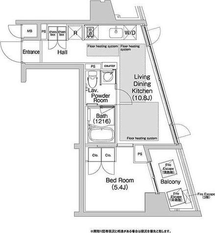 BPRレジデンス渋谷 / 3階 部屋画像1