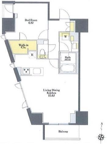 プライムメゾン市谷山伏町 / 3階 部屋画像1