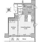 レジディア月島Ⅱ / Jタイプ(40.46㎡) 部屋画像1