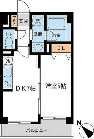 CASSIA初台 / 1階 部屋画像1