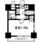 レジディア月島Ⅲ / Eタイプ(21.01㎡) 部屋画像1