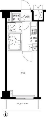 ルーブル東蒲田弐番館 / 2階 部屋画像1