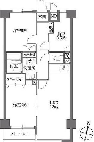 KDXレジデンス鶴見 / Aタイプ 部屋画像1