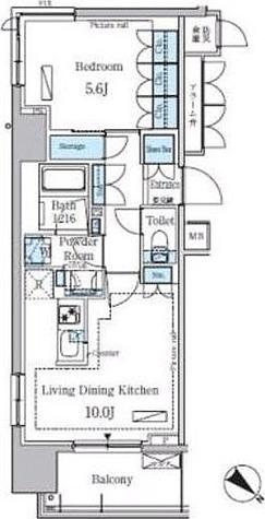 パークアクシス東日本橋ステーションゲート / 1LDK(42.20㎡) 部屋画像1