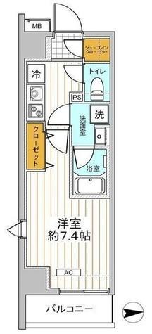 リヴシティ世田谷上馬 / 7階 部屋画像1