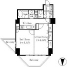 ドゥーエ東池袋 / 1LDK(54.30㎡) 部屋画像1