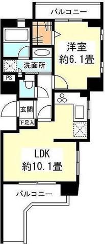 Eternel自由が丘 (レジディア都立大学) / 2階 部屋画像1