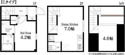 ハーミットクラブハウス自由が丘 / 1階 部屋画像1