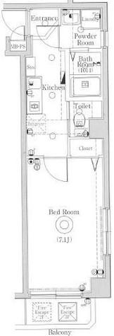 ヴォーガコルテ多摩川Ⅱ / 3階 部屋画像1