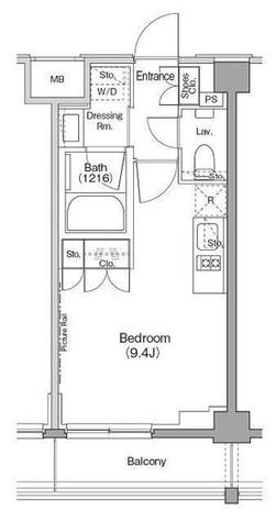 ザ・パークハビオ三軒茶屋テラス / 2階 部屋画像1