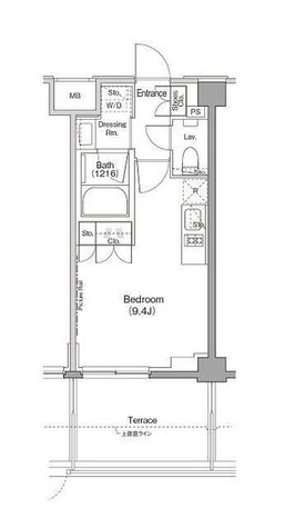 ザ・パークハビオ三軒茶屋テラス / 1階 部屋画像1