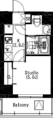 エスティメゾン戸越 / 2階 部屋画像1