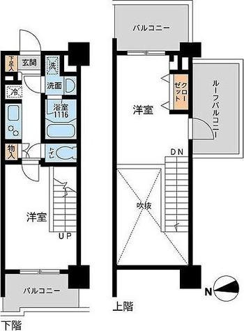 アーデン浅草橋 / Eタイプ(40.15㎡) 部屋画像1