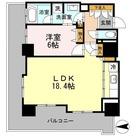 カスタリアタワー長堀橋 / 1LDK57.26㎡-2 部屋画像1