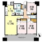 カスタリア上町台 / 3LDK(74.57㎡) 部屋画像1