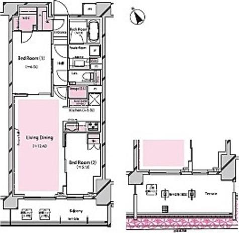 RISING SUN 恵比寿二丁目 BRANZ / 1階 部屋画像1