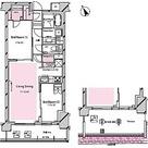 RISING SUN 恵比寿二丁目 BRANZ / 2LDK(61.98㎡) 部屋画像1