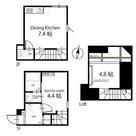 ハーミットクラブハウス自由が丘Ⅱ / Bタイプ 部屋画像1