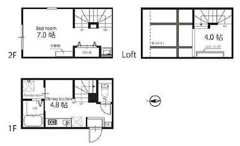ハーミットクラブハウス京急蒲田 / 1階 部屋画像1
