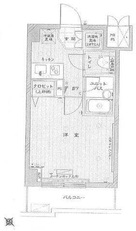 ルーブル都立大学参番館 / 6階 部屋画像1