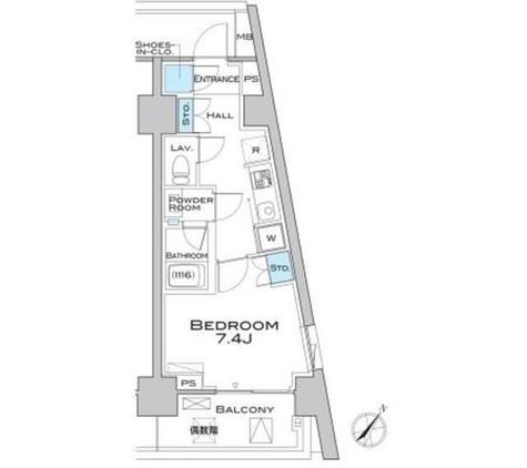 MFPRコート武蔵小山 / 5階 部屋画像1