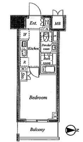プラウドフラット神楽坂Ⅱ / 4階 部屋画像1