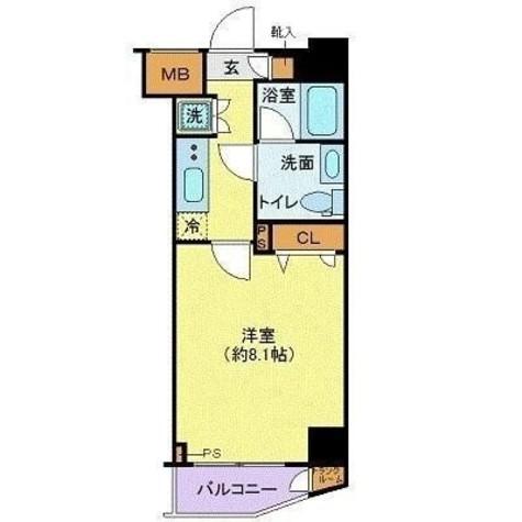 グランヴァン駒沢大学 / 3階 部屋画像1
