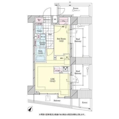 ディームス品川戸越 / 501 部屋画像1