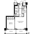 パークキューブ目黒タワー / 1LDK(49.23㎡) 部屋画像1