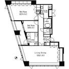 パークキューブ目黒タワー / 2LDK(106.76㎡) 部屋画像1