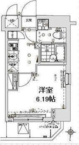 プレスタイル森下Ⅱ / 2階 部屋画像1