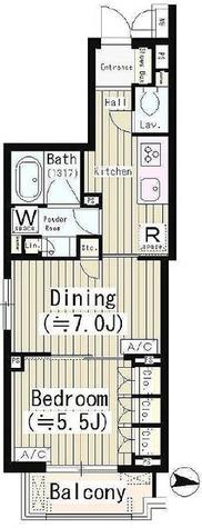 クイーンパレス品川大井 / 1DK(41.40㎡) 部屋画像1