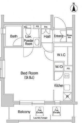 アーバンステージ目白 / 2階 部屋画像1