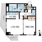 レジデンス白金コローレ(旧アパートメンツ白金コローレ) / Aタイプ 部屋画像1