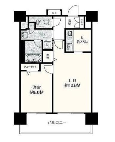 カッシア錦糸町(CASSIA錦糸町) / 2階 部屋画像1