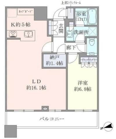 Brillia Towers目黒サウスレジデンス(ブリリアタワーズ目黒サウスレジデンス) / 3203 部屋画像1