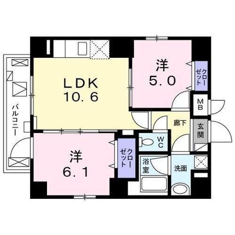 TR白金 / 2階 部屋画像1