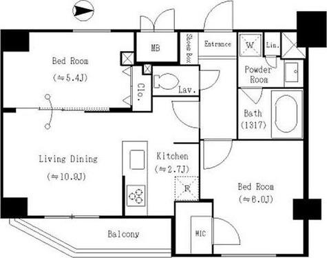 S-RESIDENCE両国 / 1階 部屋画像1