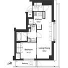 アパートメンツ北沢 / 1LDK(41.00㎡) 部屋画像1