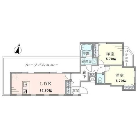 グランデュオ駒沢II / 401 部屋画像1