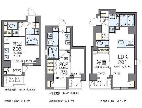 LOVIE銀座東 / 3階 部屋画像1