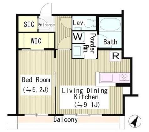 プラチナテラス白金台 / 3階 部屋画像1